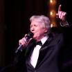 Joe Longthorne on stage at Brick Lane Music Hall.April 2018.