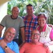 Sharing happy memories of Joe and Jamie on a winter break in Florida with dear friends Phil Hilton , Len Rawcliffe and Sandra Holiday here in Fort Lauderdale #joelongthornembe #specialmemories