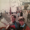 Looking back to 1998 here's Joe with Ann Denner at The North Pier Blackpool.