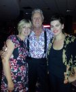Joe Longthorne here pictured with Jodie Prenger and Judy Flynn at VIVA Blackpool Aug 2013.