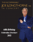 Joe's 60th Birthday Celebration brochure now available to order http://www.amazon.co.uk/dp/B00YRTFGXG
