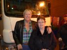 Joe Longthorne with Mary Jenkins, this photo taken at The Grand Blackpool September 2012.