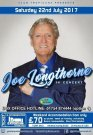 Joe Longthorne 22nd July 2017 with his band at Golden Palms Holiday Resort Skegness UK. Full details on the Events section on this website.