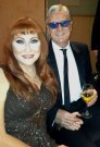 Joe Longthorne with Rose-Marie New Year's Eve 31.12.2013