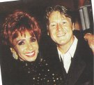 Joe with Dame Shirley Bassey