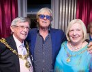 Joe with the Mayor and Mayoress of Blackpool London Palladium 31 may 2015.