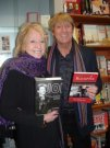Joe and the late Mrs Pat Mancini at the launch of his autobiography, Blackpool April 2010.