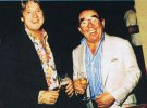 Joe with Ronnie Corbett.