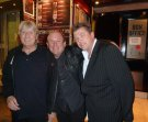 Joe with MD Andy Mudd and Leye D Johns at the Leicester Square Theatre Sept 2011