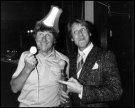 The late great Norman Collier with Joe Longthorne.